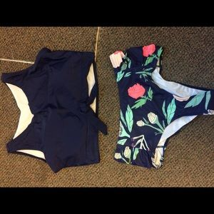 High waisted 2 piece bathingsuit NEW!